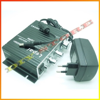 Wholesale Digital Mini Car HiFi TA2020+ Audio Power Amplifier AMP +free shipping -10000094