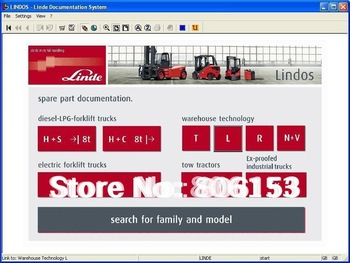 Linde Forklift Trucks 2014.03 (Spare parts for Linde forklift trucks) Lindos 2014