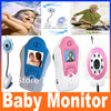 Flower Design 1.5 inch TFT LCD 2.4G Wireless Baby Monitor with Night Vision, Voice Control, AV OUT, Free Shipping