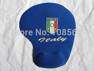 Italy national football team soft wrist mouse pad /  comfortable feeling  mouse mat