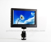 Free shipping+New Peaking feature+Blue gun+5inch Protable Camera-Top Field Monitor