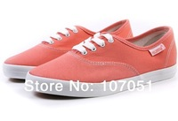 hot selling free shipping fashion Gril's Canvas shoes  women sports shoes  six colors canvas sneakers 35-39size