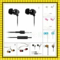 Free Shipping+DHL 100pcs/lot (WHF-081)headphones with Mic For iphone,Metal Stereo earphone For iPod/HTC,without retail box