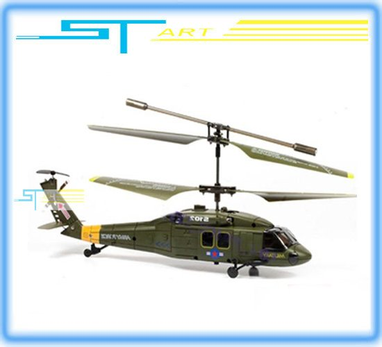 SYMA 22cm S102G 3CH Apache AH-64 IR Hawk RC Helicopter Radio Control Helicopter with LED Lights low shipping(Hong Kong)
