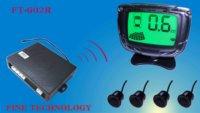 12V wireless brand new waterproof 22diameter ultrasonic car reversing sensor color LCD display parking sensor system FT-602R