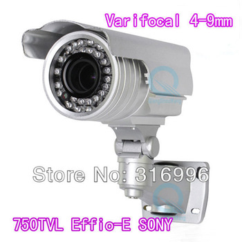 750TV L Effio-E SONY CCD Zoom 4-9mm Lens Color Cctv  Camera  w19-750