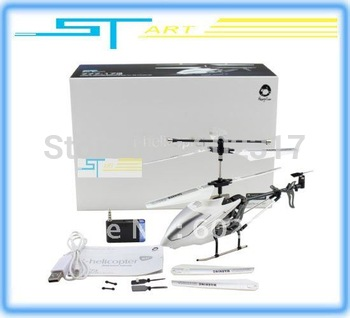 Dropshipping - Christmas Gift 3.5ch iphone control helicopter 777-173  with GYRO USB charger RC helicopter + Wholesale