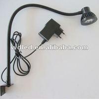 3W 110/220/12/24V LED  machine tool light/ LED flexibel pipe snake light gooseneck light