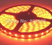 5m a lot Hot LED hightlight SMD 5050 flex led strip 5 meters 300 LEDS DC 12V waterproof IP67 Soft light  Reasonable freight