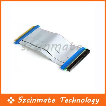PCI-E express 16X Riser Card Extender Cable Ribbon 30pcs/lot Wholesale
