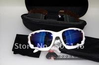 FREE SHIPPING-High Quanlity Sports Sunglasses Men's Sunglasses New Black/Red/Fire Iriridum Sunglasses Christmas gifts  19