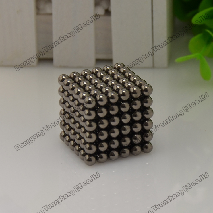Wholesale! Best Selling! size: 5mm 216pcs/set Buckyballs,Neocube,Magnetic Balls/ color:black 10sets/lot