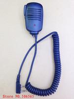speaker microphone K plug for baofeng uv5r,tyt,quansheng,wouxun, kenwood walkie talkie two way radios  K plug  freeshipping