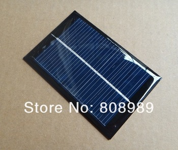Wholesale! 24pcs/lot 0.6W 6V Solar Cell Solar Panel DIY Solar Charger Polycrystalline Solar Cell Panel 90x60x3mm Free shipping