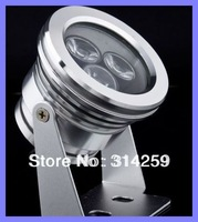12V 9W LED Spotlight High Power Outdoor Lamp  Pure white & Warm white ,Wholesale 20pcs/lot