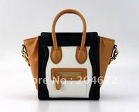 Free shipping top quality fashion handbag sheepskin handbag luggagehs tote bags