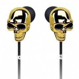 Free Shipping 1Piece Merkury Innovations Skull Earbuds Ear buds / Skull Skeleton Earphone Headset(China (Mainland))