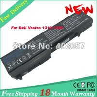 Laptop Battery For Dell Vostro 1310 1320 1510 1520 2510 T112C T114C T116C 312-0724 ,free shipping