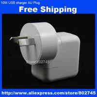 AU plug 10W 2100mA AC wall charger mains power adapter for iPad 1 2 iPhone 5 5s 5c ipad mini