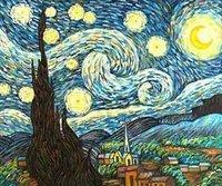 reproduction oil painting Van Gogh,Landscape canvas art Van -020