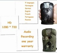 10 languages automatic trapping hunting video camera trail outdoor wildlife