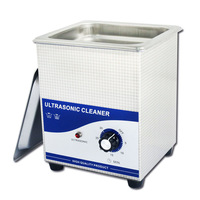 ultrasonic parts cleaner without heater 2liter