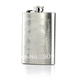 100% Quality Assurance Keep Your Good Wine 5 oz Stainless Steel Liquor & Whiskey Hip Flask For Mature Man(China (Mainland))