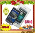3.5 inch capacitive touch screen dual sim android 2.3 phone G510i