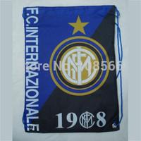 wholesale Inter Milan daily bag / fashion sport backpacks /shoe bag   10pcs