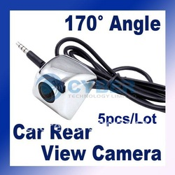 5pcs/Lot High definition Night Vision Car Rear Camera View Reversing Backup Weatherproof Free Shipping(China (Mainland))