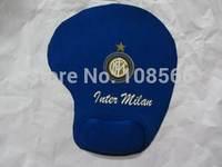 Inter Milan soft wrist mouse pad/fans souvenir