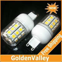 $10 off per $300 order G9 5W 30-SMD 5050 LED 360-Lumen Warm White LED Light Bulbs 220V