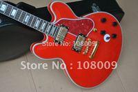 HOT SALE B.B.king electric guitar red body electric guitar free shipping 2012