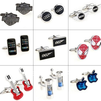 Car Sign Shaped cufflinks,Interesting cuff link, Novelty Cufflinks. Can be mixed batch .