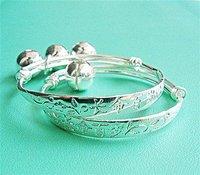 FREE SHIPPING  silver plating  child  bangles