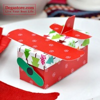 400 Christmas airplane box C11