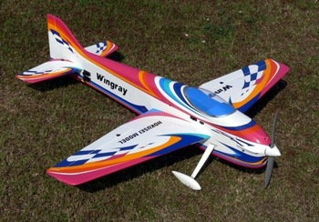 New! Hokusei wingray 70 F3A gas electric pattern balsa ARF stunt RC airplane aircraft model plane aerobatics aeroplane hobby