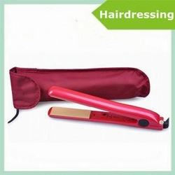 Hot Sale! 10pcs Pink dazzle Ceramic Hair Straightening Iron Professional Flat Iron 110V Hair care US plug(China (Mainland))