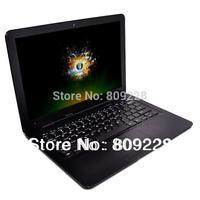 Drop shipping 13.3 inch ultrabook mini Laptop intel atom d2500 1G RAM 160G HDD windows7 notebook computer Wifi camera /Cherry