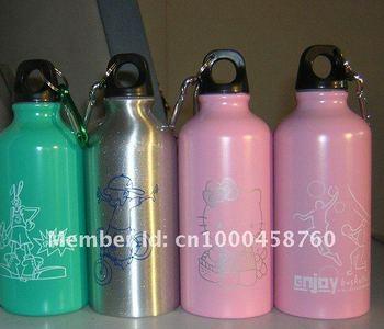 aluminium bottle/ sport bottle/  water bottle  FREE SHIPPING