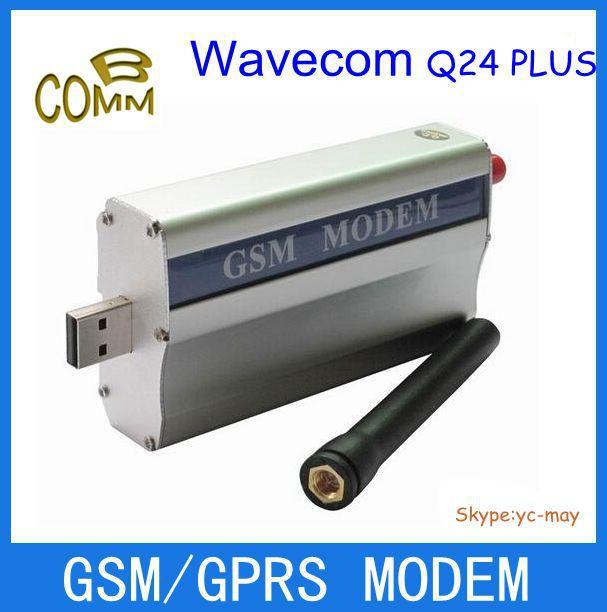factory wholesale wavecom Q24plus modem for RS232 gprs modem(China (Mainland))
