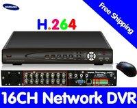 Free shipping 16CH CCTV DVR Recorder  HT-7016HV