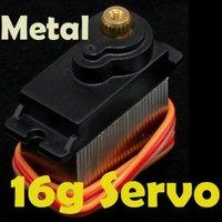 fast shipping 10PCS/LOT 16g Micro Servo for RC model hobby S1006 metal Plane free shipping
