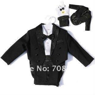 Classic~~~Lovely Boy's Wedding Party Suit/Boy's Tuxedo/Flower Boy's Dress(China (Mainland))