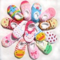 G3 colorful cotton infant baby anti slip socks,home socks