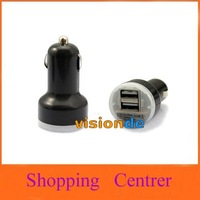2A + 1A Dual USB Car Charger for iPad 1 2,for iPhone 4S/4 and Cell Phone / PDA / Mp3 / Mp4 - 20 pcs, Free Shipping by DHL