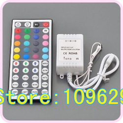Cheap 44 Keys RGB controller IR Remote Controller with BRG Port for RGB LED Light Strip free Shipping(China (Mainland))