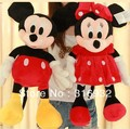Mickey Mouse mickey Minnie a pair of plush toys Christmas gift the birthday gift