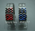 Led Lava Watch Japanese Inspired Volcanic metal mix color 4pcs