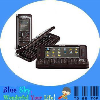 Swiss post free shipping E90 original 3G WIFI GPS 3.2MP PDA cell phone 3G WIFI GPS 3.2MP Camera